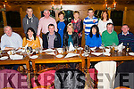 Celebrating her birthday last Saturday night was Catherine Kennedy, seated center, pictured here with family and friends in Leen's Hotel, Abbeyfeale.