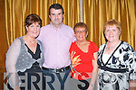 CD LAUNCH: Enjoying Country and Irish music at the launch of Eddie Lee and John Reidy new CD at the Ballygarry House Hotel & Spa on Saturday l-r: Mariead O'Keeffe, Currow, Maurice Sheahan, Kilbrin, Mary Browne McCarthy, Abbeyfeale and Kathleen Sheahan, Kilbrin..   Copyright Kerry's Eye 2008