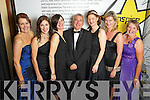 Angela Ryan, Marie Lynch, Catriona Curtin, Ogie Moran, Catriona Py Collins, Caroline Sugrue and Bernie Buckley at the Ernst & Young Entrepreneur awards in Citywest Hotel, Dublin on Thursday Night.