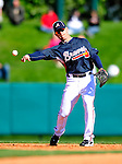 3 March 2010: Atlanta Braves' infielder Brandon Hicks in action during a Grapefruit League game against the New York Mets at Champion Stadium in the ESPN Wide World of Sports Complex in Orlando, Florida. The Braves defeated the Mets 9-5 in the Spring Training matchup. Mandatory Credit: Ed Wolfstein Photo