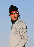 Rafa Cabrera-Bello (ESP) on the 11th tee during Round 2 of the 2015 Alfred Dunhill Links Championship at Kingsbarns in Scotland on 2/10/15.<br /> Picture: Thos Caffrey | Golffile