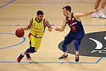 XXXVIII Lliga Nacional Catalana ACB 2017.<br /> FC Barcelona Lassa vs BC Morabanc Andorra: 89-70.<br /> Jaime Fernandez vs Thomas Heurtel.