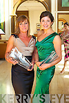 Karyn Moriarty and Carol Kennelly  at Kerry Fashion Weekend at the Brehon Hotel Killarney on Sunday