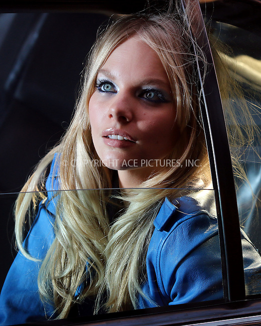 WWW.ACEPIXS.COM<br /> <br /> May 6 2014, New York City<br /> <br /> Model Marloes Horst takes part in a photo shoot for Maybelline in Soho on May 6 2014 in New York City<br /> <br /> By Line: Zelig Shaul/ACE Pictures<br /> <br /> <br /> ACE Pictures, Inc.<br /> tel: 646 769 0430<br /> Email: info@acepixs.com<br /> www.acepixs.com