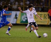 Jose Frnacisco Torres during FIFA World Cup qualifier against El Salvador. USA tied El Salvador 2-2 at Estadio Cuscatlán Stadium in El Salvador on March 28, 2009.