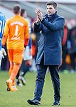 15.12.2019 Motherwell v Rangers: Steven Gerrard
