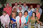JJ Breen, standing centre enjoying his retirement party with family and friends in The Ballyroe Heights Hotel on Friday night...   Copyright Kerry's Eye 2008