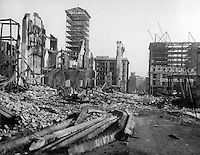 San Francisco Earthquake of 1906: Stockton Street from Union Square, looking toward Market Street'<br /> <br /> San Francisco 1906 Earthquake  - The San Francisco earthquake of 1906 was a major earthquake that struck San Francisco and the coast of Northern California at 5:12 a.m. on Wednesday, April 18, 1906. Devastating fires broke out in the city and lasted for several days. As a result of the quake and fires, about 3,000 people died and over 80% of San Francisco was destroyed.<br /> <br /> The earthquake and resulting fire are remembered as one of the worst natural disasters in the history of the United States