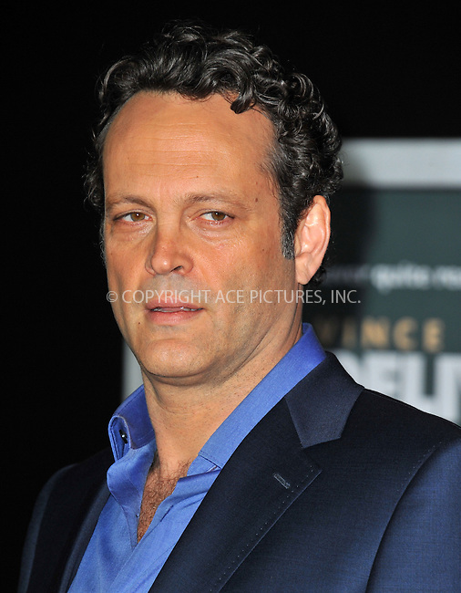 WWW.ACEPIXS.COM<br /> <br /> November 3 2013, LA<br /> <br /> Vince Vaughn arriving at the Los Angeles premiere of 'Delivery Man' at the El Capitan Theatre on November 3, 2013 in Hollywood, California.<br /> <br /> By Line: Peter West/ACE Pictures<br /> <br /> <br /> ACE Pictures, Inc.<br /> tel: 646 769 0430<br /> Email: info@acepixs.com<br /> www.acepixs.com