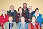 GREETINGS: Celebrating their 80th birthdays in The Dromhall Hotel, Killarney, on Tuesday were, front row l-r:.Noreen Healy, Beaufort, Eileen OKeeffe, Kilcummin, and Bridie McSweeney, Mastergeeha, Kilcummin. Back row l-r:.Mary Moynihan, Kilcummin, Con Healy, Currow, Kathleen Lynch, Kilcummin, Fr Tom Looney (who celebrated Mass),.Michael Cahill, Kilcummin, and Kate Brosnan, Kilcummin.