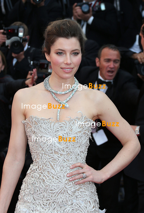 JESSICA BIEL - Actress Jessica Biel attends 'Inside Llewyn Davis' Premiere during the 66th Annual Cannes Film Festival at Palais des Festivals on May 19, 2013 in Cannes, France..