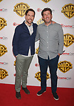 LAS VEGAS, CA - MARCH 29: Actor Ed Helms (L) and director Lawrence Sher arrive at CinemaCon 2017 Warner Bros. Pictures Invites You to ?The Big Picture?, an Exclusive Presentation of our Upcoming Slate at The Colosseum at Caesars Palace during CinemaCon, the official convention of the National Association of Theatre Owners, on March 29, 2017 in Las Vegas, Nevada.