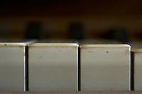 A old Grand Piano in the ruin of  a abndoned Sanatorium in the former GDR.<br /> 27.10.2013<br /> Copyright: Christian-Ditsch.de<br /> [Inhaltsveraendernde Manipulation des Fotos nur nach ausdruecklicher Genehmigung des Fotografen. Vereinbarungen ueber Abtretung von Persoenlichkeitsrechten/Model Release der abgebildeten Person/Personen liegen nicht vor. NO MODEL RELEASE! Don't publish without copyright Christian-Ditsch.de, Veroeffentlichung nur mit Fotografennennung, sowie gegen Honorar, MwSt. und Beleg. Konto: I N G - D i B a, IBAN DE58500105175400192269, BIC INGDDEFFXXX, Kontakt: post@christian-ditsch.de<br /> Urhebervermerk wird gemaess Paragraph 13 UHG verlangt.]