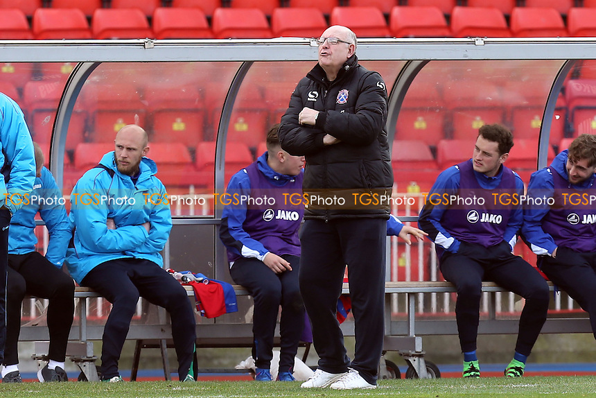 Dagenham manager John Still during Gateshead vs Dagenham & Redbridge, Vanarama National League Football at the Gateshead International Stadium on 4th March 2017