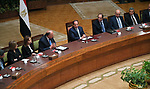Egyptian President Abdel Fattah al-Sisi, chairs a meeting with ambassadors of candidates to work as heads of diplomatic missions abroad Egypt in Cairo, Egypt, 05 June 2018. Photo by Egyptian President Office