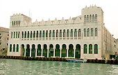Venice, Italy - March 24, 2006 -- A warehouse used by Turkish traders used from the 17th to 19th centuries on the Grand Canal in the heart of Venice, Italy on March 24, 2006.  The building now houses the Natural History Museum..Credit: Ron Sachs / CNP
