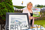 Pictured at the Duagh parish festival on Sunday was: Ellen Keane, Duagh, who was selling paintings on the day.