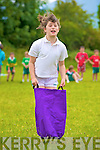 Saoirse O'Connor in action during the Loretto National School sports day on Thursday...