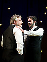 The Winter's Tale by William Shakespeare, The Bridge Project Production directed by Sam Mendes.With Simon Russell Beale as Leontes, Josh Hamilton as Polixenes.Opens at The Old Vic  Theatre on 9/6/09.  Credit Geraint Lewis