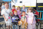 BIKE: Some of the magpies  Group who marched in the Ballyheigue Summer Festival Parade on Sunday they were, Daniel Kirwan, Ava Forde, Dylan McCabe, Emer Forde, Shaun McCabe, Christian Crotty and Ellie Forde.......................