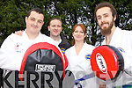 MARTIAL ART: Members of Lixnaw Taekwondo Club who are recruiting new members for their classes, l-r: Jer Barry, Willie Moloney (Instructor), Miriam Moloney, John Fenten.
