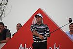 Francesco Molinari teeing off on the second tee on.day one of the Abu Dhabi HSBC Golf Championship 2011, at the Abu Dhabi golf club 20/1/11..Picture Fran Caffrey/www.golffile.ie.