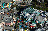 aerial photograph Florida Aquarium Tampa, Florida