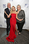Kristin Chenoweth with her parents Jerry Chenoweth and Junie Chenoweth attend the Opening Night celebration for Kristin Chenoweth - 'My Love Letter To Broadway'  at the Bar Sixty Five at the Rainbow Room Bar on November 2, 2016 in New York City.
