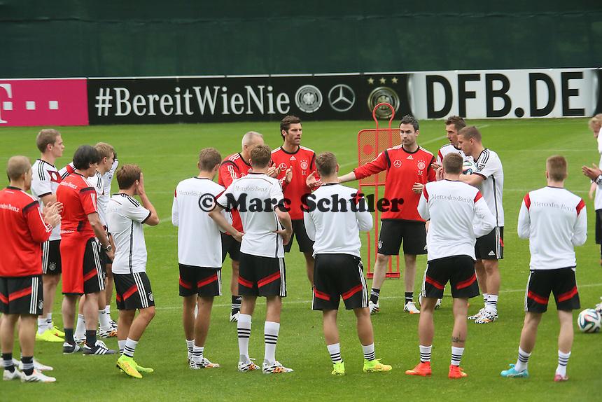 Nationalmannschaft schwört sich ein - Trainingslager der Deutschen Nationalmannschaft zur WM-Vorbereitung in St. Martin