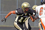 Palos Verdes, CA 09/22/11 - Marco Catallo (Peninsula #10)) in action during the Beverly Hills-Peninsula Varsitty Football gane.