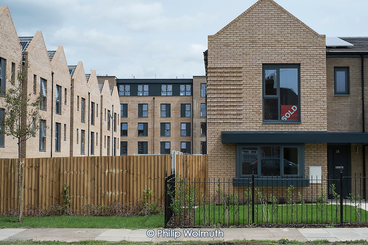 Private housing development on former the Hendon Football Club ground, London, part of a 20 year Brent Cross Crcklewood regenration scheme.