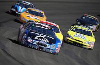 Oct. 10, 2009; Fontana, CA, USA; NASCAR Nationwide Series driver John Borneman III during the Copart 300 at Auto Club Speedway. Mandatory Credit: Mark J. Rebilas-