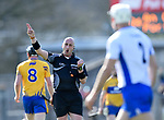 John Keenan, referee, during the National League game at Cusack Park. Photograph by John Kelly.