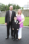 David Reilly at Slane NS Communion...(Photo credit should read Jenny Matthews www.newsfile.ie)....This Picture has been sent you under the conditions enclosed by:.Newsfile Ltd..The Studio,.Millmount Abbey,.Drogheda,.Co Meath..Ireland..Tel: +353(0)41-9871240.Fax: +353(0)41-9871260.GSM: +353(0)86-2500958.email: pictures@newsfile.ie.www.newsfile.ie.