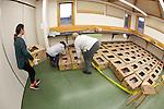 Stranding Sea Turtles In Boxes Ready For Transport, Welfleet Bay Wildlife Sanctuary, Audubon