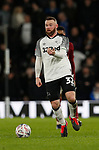 Wayne Rooney of Derby County in action during the FA Cup match at the Pride Park Stadium, Derby. Picture date: 4th February 2020. Picture credit should read: Darren Staples/Sportimage