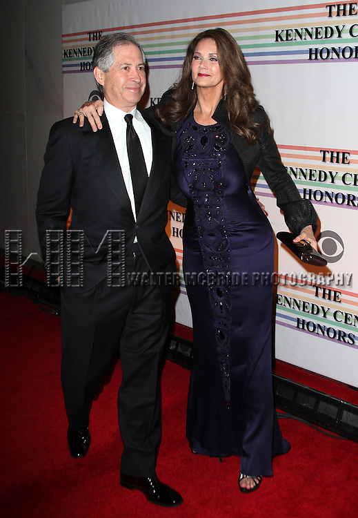 Lynda Carter & Ron Samuels.arriving for the 34th Kennedy Center Honors Presentation at Kennedy Center in Washington, D.C. on December 4, 2011