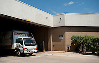 A delivery truck parked at the Valley View Center Mall in Dallas, Texas, Saturday, August 21, 2010. ..MATT NAGER for the Wall Street Journal