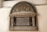 Memorial monument Captain Hyde Parker died Crimean War 1854, H.M.S. Firebrand ,Long Melford, Suffolk, England, UK