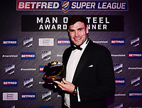 Picture by Simon Wilkinson/SWpix.com - 03/10/2017 - Rugby League BETFRED Super League Man of Steel Awards Dinner 2017 - The Steve Prescott MBE Man of Steel - Alex WALMSLEY