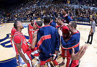 11 November 2009:  Detroit Titans Men's Basketball vs California at Haas Pavilion in Berkeley, California.   California defeated Detroit, 95-61.