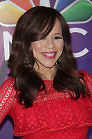 NEW YORK, NY - MARCH 8: Rosie Perez  at NBC 2018 NEW YORK MID SEASON PRESS DAY  at Four Seasons Hotel on March 8, 2018 in New York City. <br /> CAP/MPI99<br /> &copy;MPI99/Capital Pictures