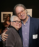 Paula Vogel and Douglas Aibel attends the Vineyard Theatre's Annual Emerging Artists Luncheon at The National Arts Club on June 6, 2017 in New York City.