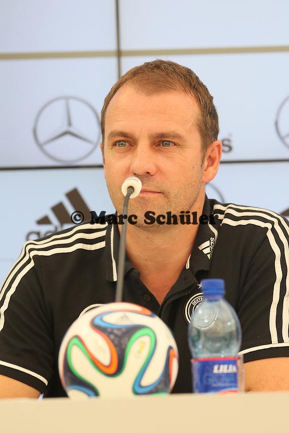 Co-Trainer Hansi Flick - Trainingslager der Deutschen Nationalmannschaft zur WM-Vorbereitung in St. Martin
