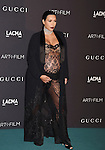 LOS ANGELES, CA - NOVEMBER 07: TV personality Kim Kardashian attends LACMA 2015 Art+Film Gala Honoring James Turrell and Alejandro G Iñárritu, Presented by Gucci at LACMA on November 7, 2015 in Los Angeles, California.