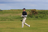 Martin Vorster (RSA) walking to the 18th tee during Round 4 of The East of Ireland Amateur Open Championship in Co. Louth Golf Club, Baltray on Monday 3rd June 2019.<br /> <br /> Picture:  Thos Caffrey / www.golffile.ie<br /> <br /> All photos usage must carry mandatory copyright credit (© Golffile | Thos Caffrey)