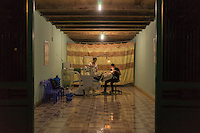 September 22, 2014 - Meo Vac (Vietnam). A dentist operates a patient in the small village of Tam Son. © Thomas Cristofoletti / Ruom
