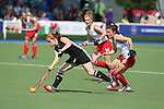 Glasgow 2014 Commonwealth Games<br /> Wales v England<br /> Sarah Jones in action.<br /> Glasgow National Hockey Centre<br /> <br /> 24.07.14<br /> &copy;Steve Pope-SPORTINGWALES