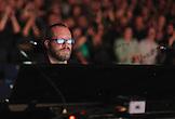 Jimmy Hatten - lighting directore for Crosby, Stills & Nash at Max-Schmeling-Halle, Berlin, Germany