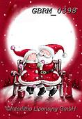 Roger, CHRISTMAS SANTA, SNOWMAN, WEIHNACHTSMÄNNER, SCHNEEMÄNNER, PAPÁ NOEL, MUÑECOS DE NIEVE, paintings+++++,GBRM0398,#x#